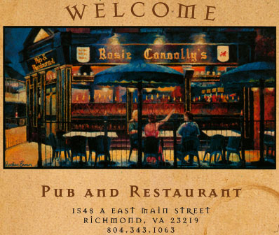 Rosie Connolly S Pub And Restaurant Richmond Va